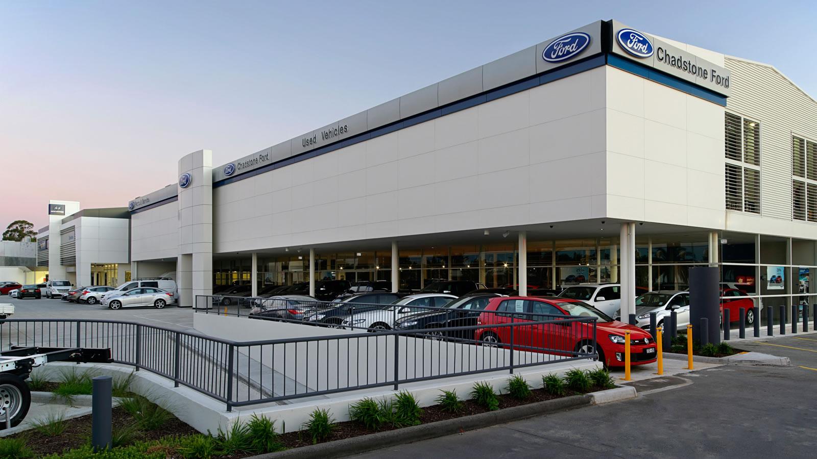 Preston Motors Oakleigh Alclad Architectural
